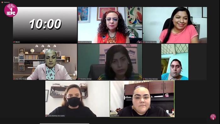 """Realiza IEPC Diálogo """"Obstáculos que enfrentan las mujeres para participar en la política"""""""