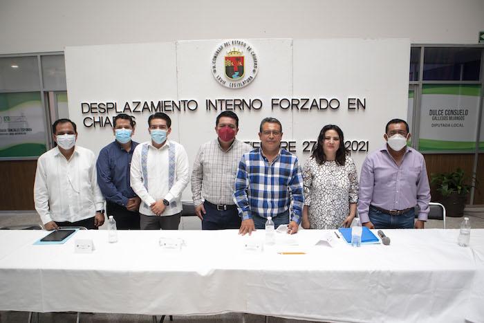 Congreso realiza foro sobre fenómeno del desplazamiento en Chiapas