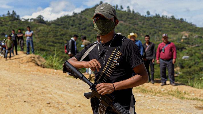 En sólo tres meses, cinco autodefensas armadas en Chiapas / En la Mira